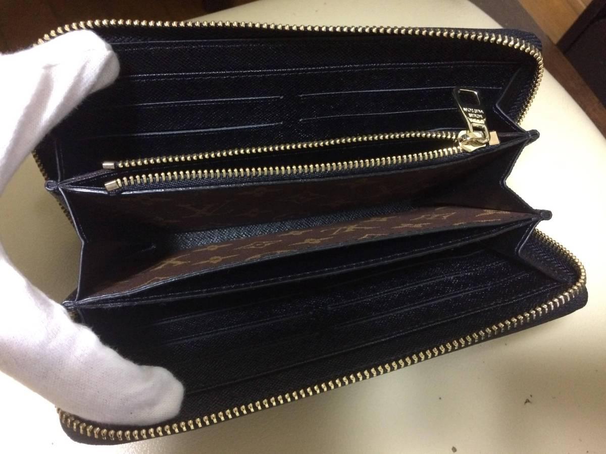 未使用品 ルイヴィトン 財布 メンズ ジッピーウォレット レティーロ モノグラム