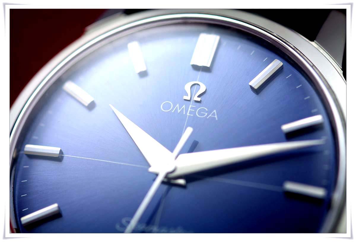 オメガ Seamaster 30 Blue Dial メンズ 手巻き ( 極美品、OH済み )_画像2