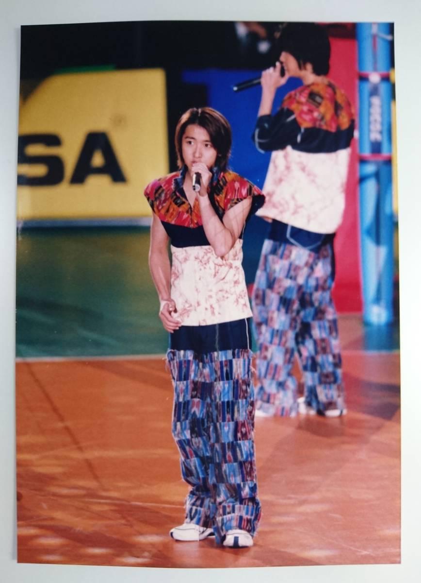 嵐 大野智 相葉雅紀 ファミクラ 公式写真 ファミリークラブ 1枚 1999 バレーボール Limited WorldCup Volleyball character arashi 美品