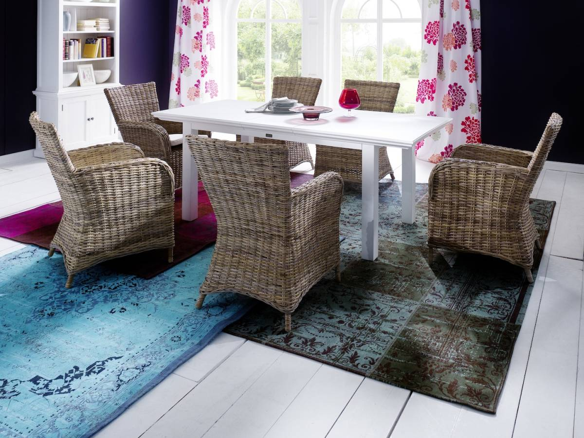 クブラタン アームチェア お洒落な北欧家具です(^^) 籐 ヨーロピアン 洋風 リビング おしゃれ 洋室 素敵 お洒落 ラタン リラックス_画像2