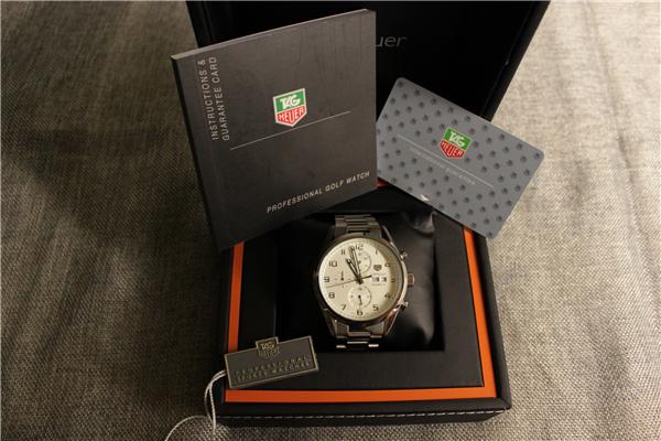 時計 腕時計 カレラ 自動巻き ホワイト