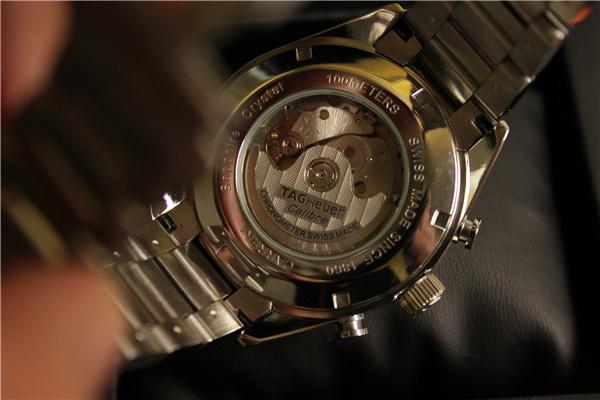 時計 腕時計 カレラ 自動巻き ホワイト_画像5