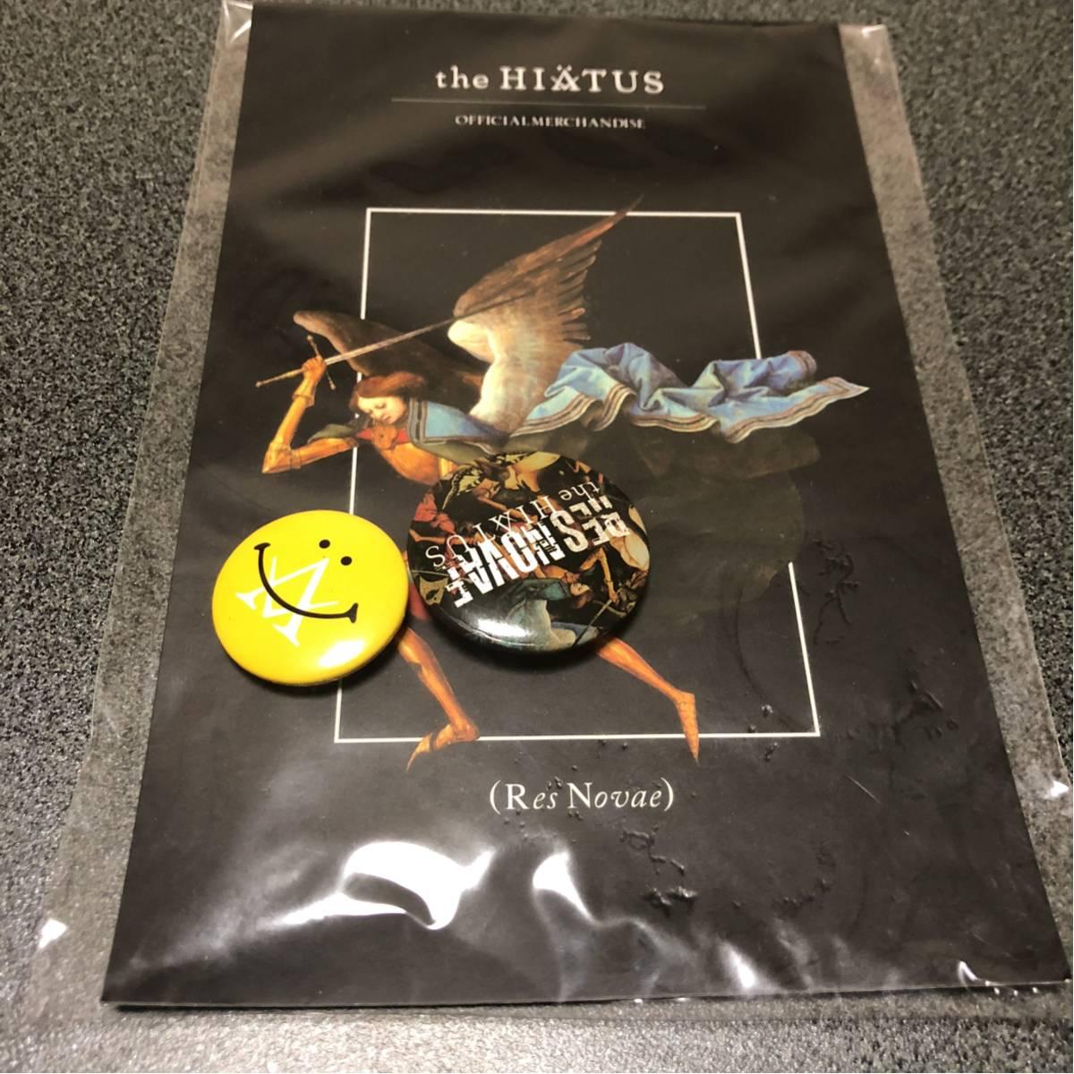 【新品】the HIATUS 缶バッジ 2個セット