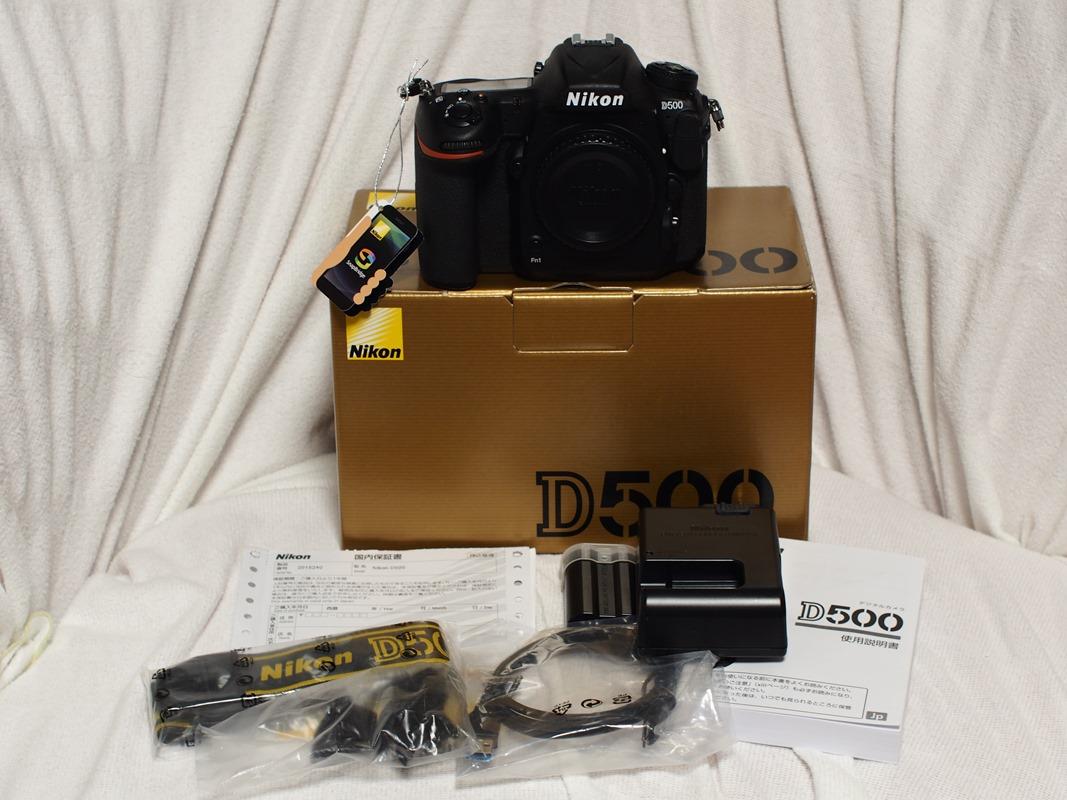 ★美品★ニコン【Nikon D500】ボディ 使用の浅い物です。屋外持ち出しも3回程度です。