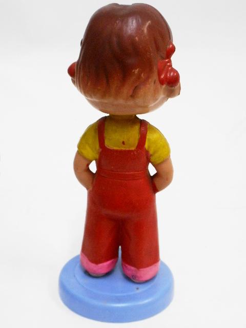 希少!不二家ペコちゃん☆彡昭和30年代セルロイド☆彡ペコちゃん首ふり人形(小)_画像6