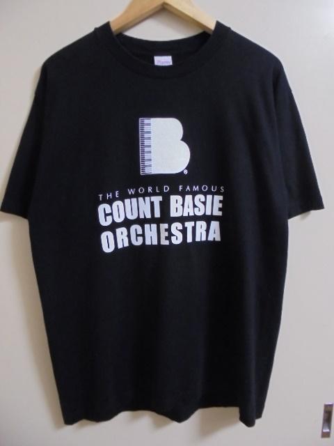 COUNT BASIE カウントベイシー オーケストラ Tシャツ/L
