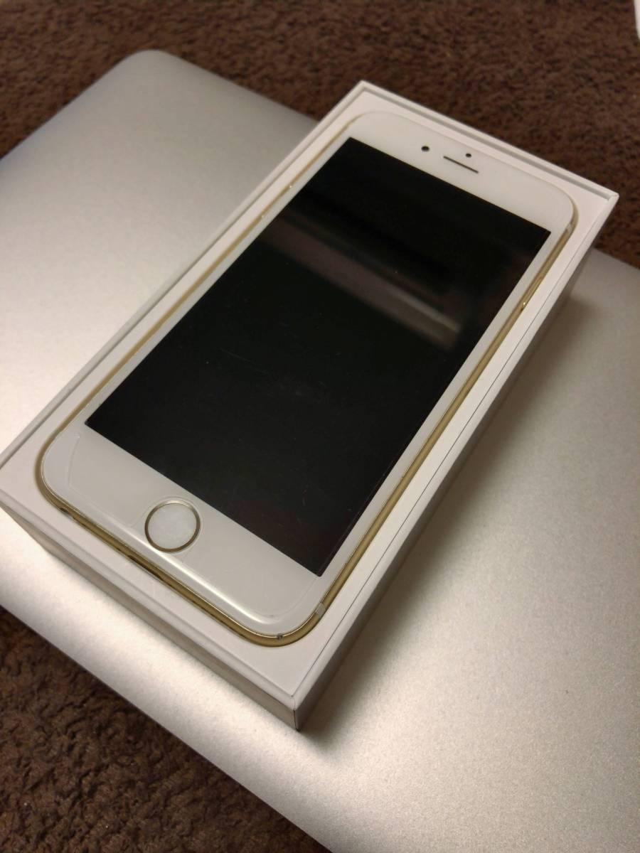 送料無料 iPhone6s 16GB ゴールド SIMフリー 未使用付属品付 1円スタート
