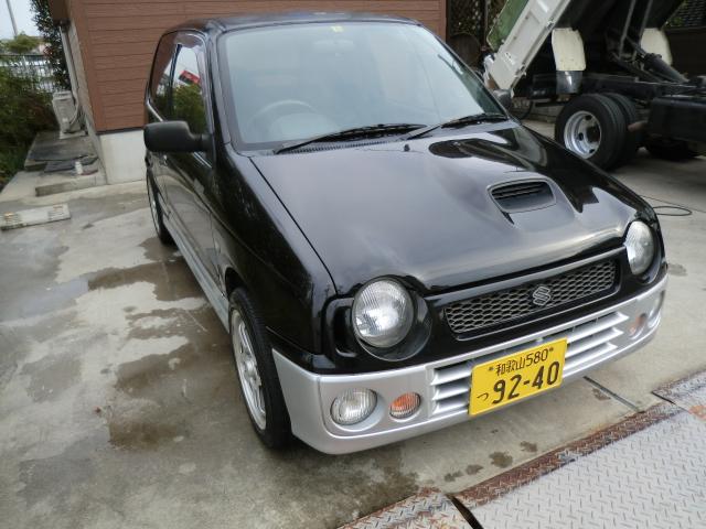 アルトワークス RS/Z H10年式 走行123950K 実走行 黒 AT K6Aエンジン(ツインカムターボ)