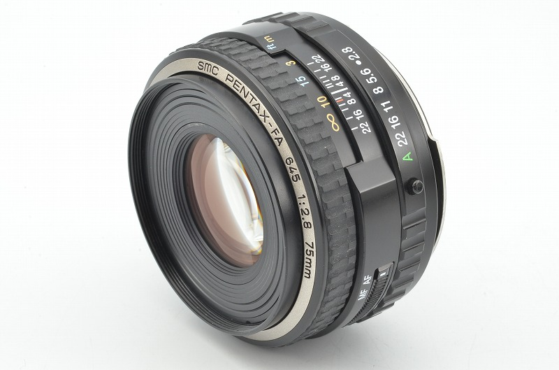 ★美品★ PENTAX FA 645 75mm F2.8 smc ペンタックス 中判レンズ 645N 645NII
