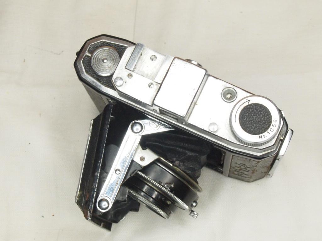 j★スプリングカメラ GELTO 1:3.5 f=7.5cm ジャンク★_画像3
