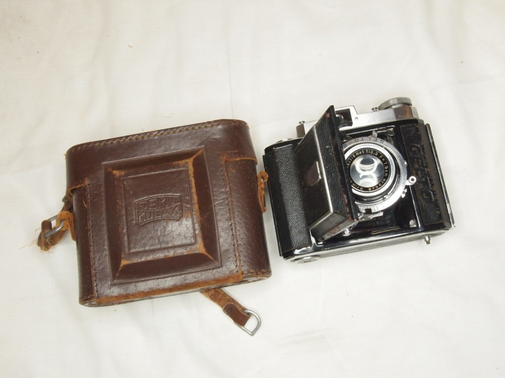j★スプリングカメラ GELTO 1:3.5 f=7.5cm ジャンク★