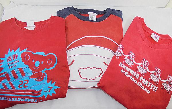 真野恵里菜 Friends Party・Summer Party Tシャツ+ロンT 計3点セット(Lサイズ)グッズ