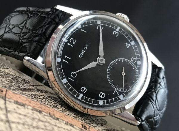 極上品【オメガ☆ミリタリー】アンティーク ヴィンテージ Cal.268 手巻き メンズ腕時計