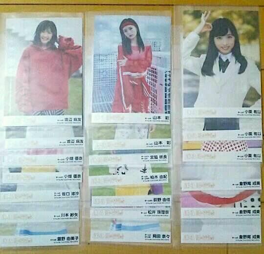 ●AKB48 11月のアンクレット 劇場盤 生写真 85枚まとめ 渡辺麻友 山本彩 小栗有以 コンプ