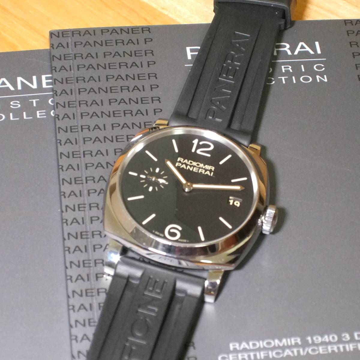 PANERAI RADIOMIR 1940 3DAYS 47mm手巻き PAM00514 付属品あり 正規中古概ね美品