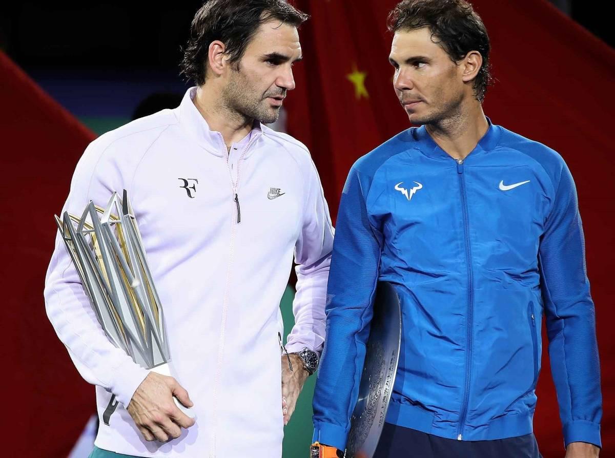 フェデラー&ナダル 2L判写真1枚 テニス ①