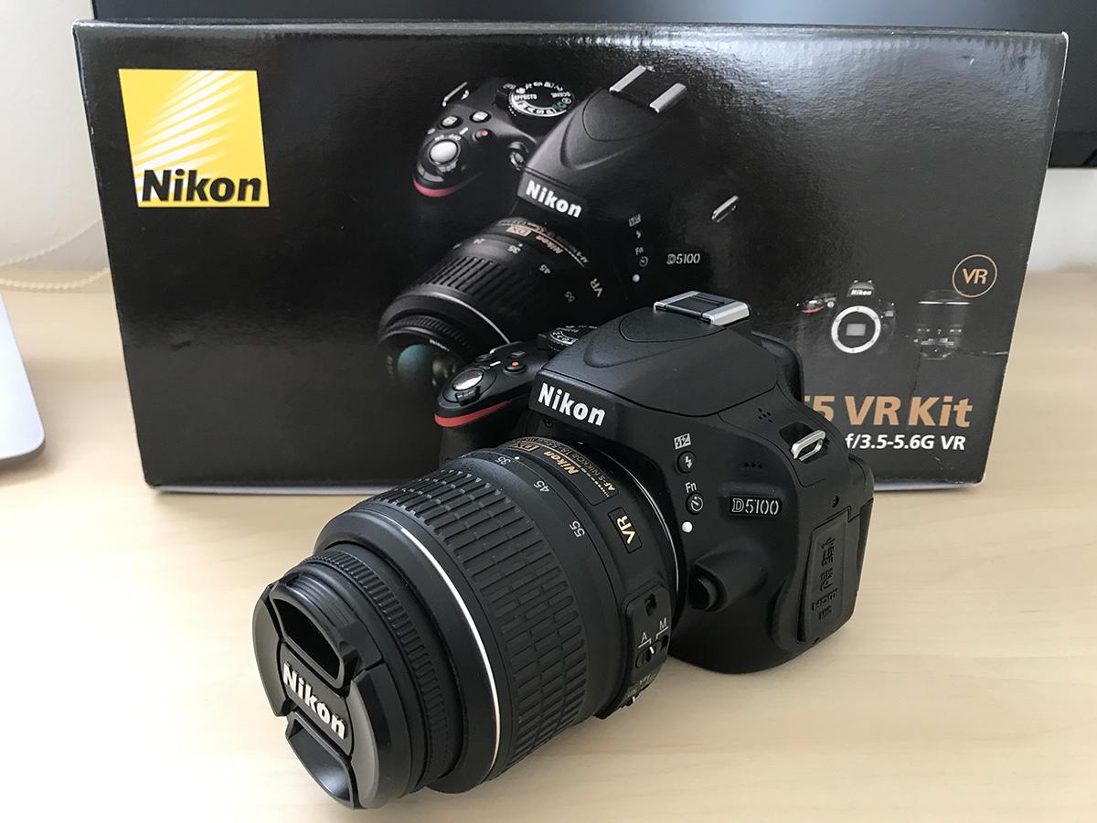 【1円・送料無料!!】 Nikon ニコン D5100 18-55 VR レンズキット おまけ付き
