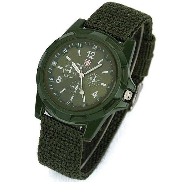 限定Gemi-usの軍用ミリタリークロノグラフ時計(緑)   ロンハーマンフレッドシーガルケンテックスディーゼルシェアスピリットLGBMWCMVMT
