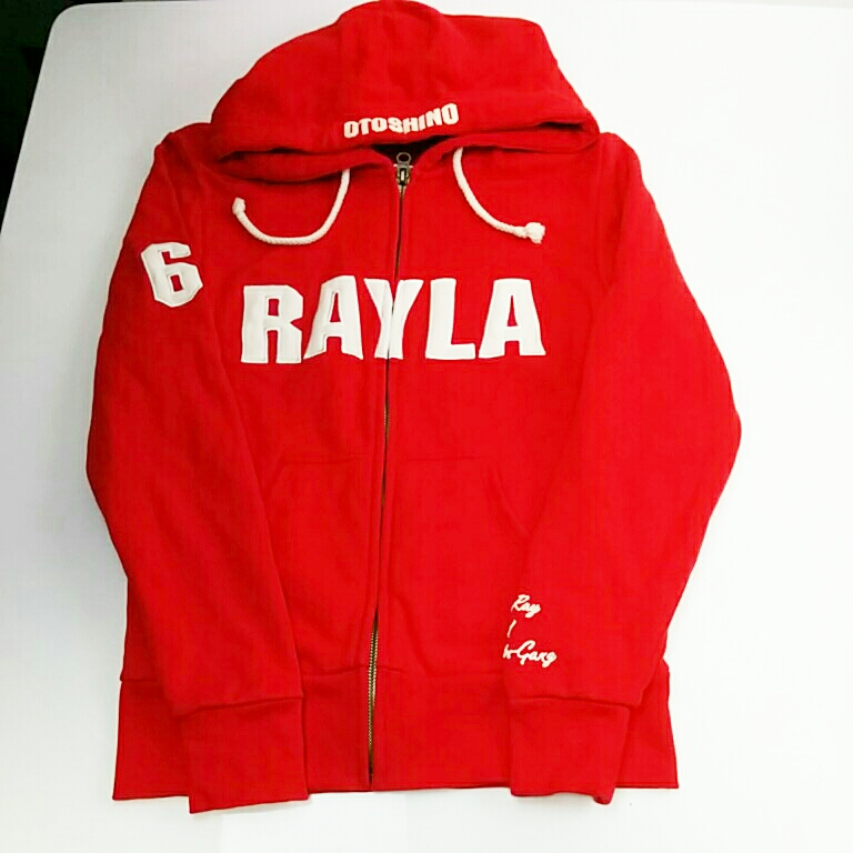 奥田民生 tour~おとしのレイら~限定RAYLA Hoodie REDパーカー XSサイズ ユニコーン グッズ/タオルTシャツ 600