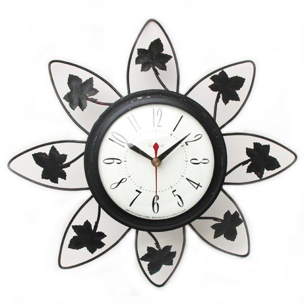 送料無料 アンティークウォールクロック UNITED/ヴィンテージ壁掛け時計アメリカ製usa製ミッドセンチュリー北欧昭和レトロモダン50s60s70s_画像1