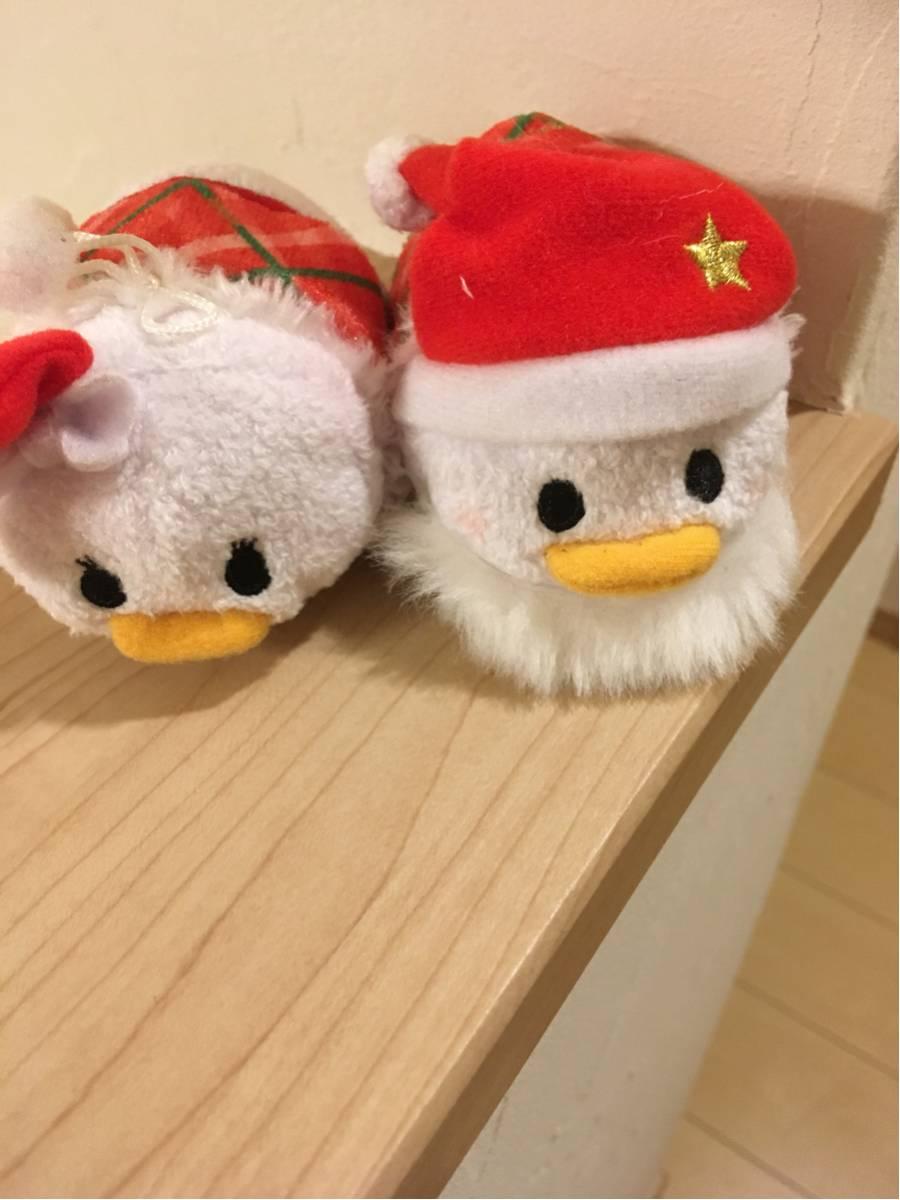 ツムツム セット サンタ クリスマス ドナルド デイジー ディズニーグッズの画像