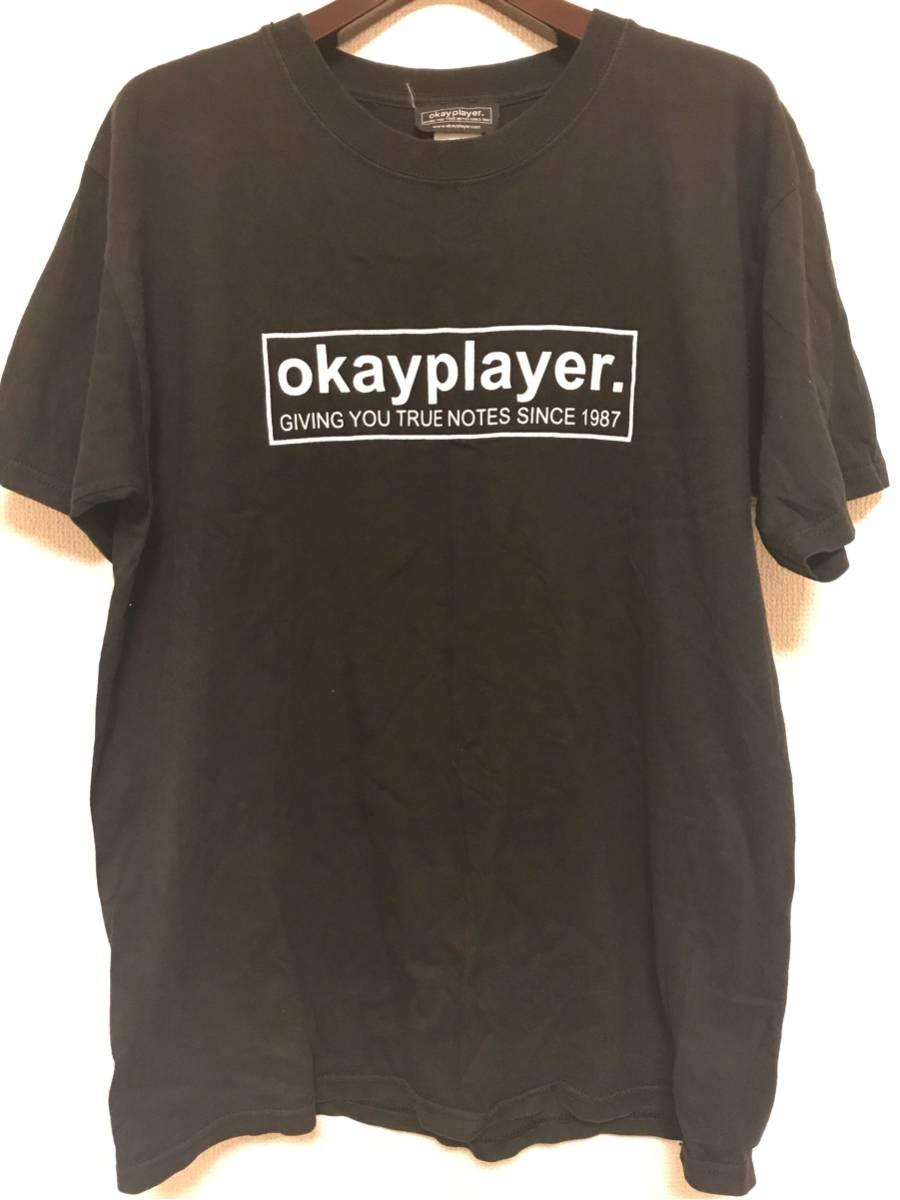 【古着】the roots tシャツ okayplayer Lサイズ
