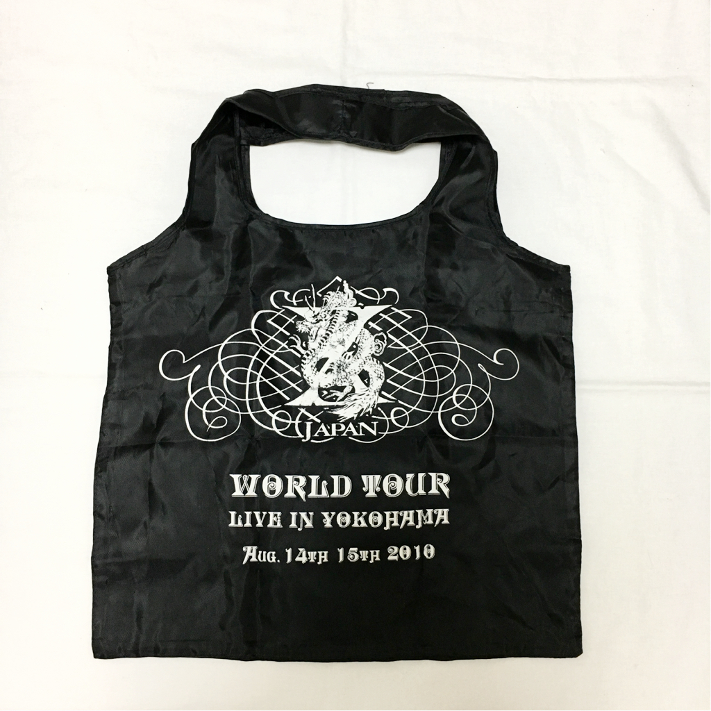 X JAPAN LIVEグッズ 2010 横浜 トートバッグ 美品