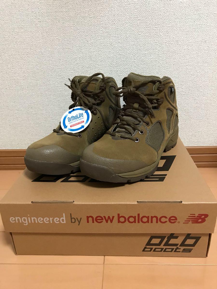 新品 New Balance OTB Rappel 27cm W US NAVY SEALS ニューバランス ミリタリー タクティカル コンバット ブーツ コヨーテ USA製 701MCO