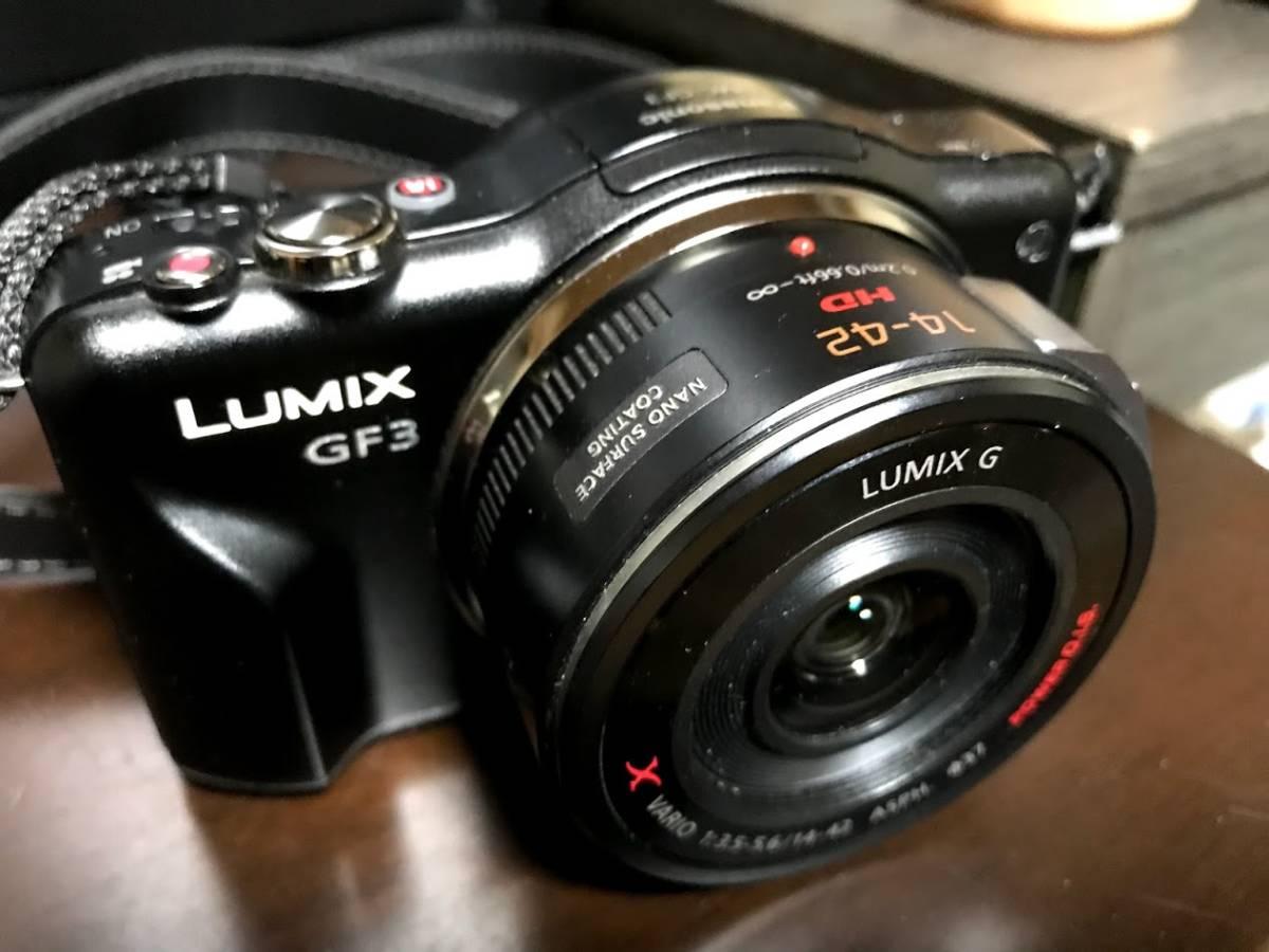 ■□Panasonic ミラーレス一眼 LUMIX DMC-GF3【USED】□■
