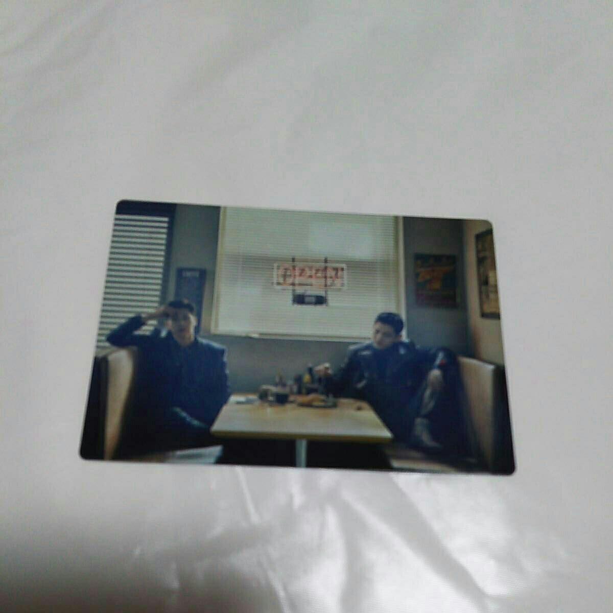 東方神起 Begin Again シューズアクセサリー 投入 カード 2人ver.