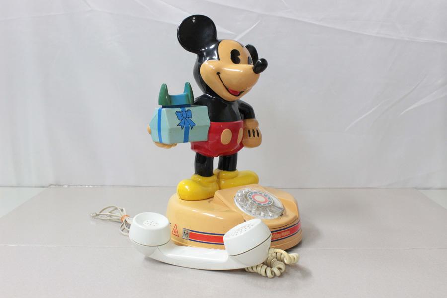 ミッキーマウス電話機 DK-641 神田通信 ♪通話確認済み♪ 昭和レトロ_画像5