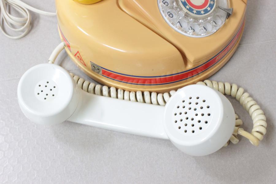 ミッキーマウス電話機 DK-641 神田通信 ♪通話確認済み♪ 昭和レトロ_画像3