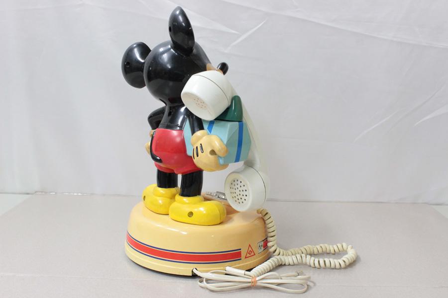 ミッキーマウス電話機 DK-641 神田通信 ♪通話確認済み♪ 昭和レトロ_画像6