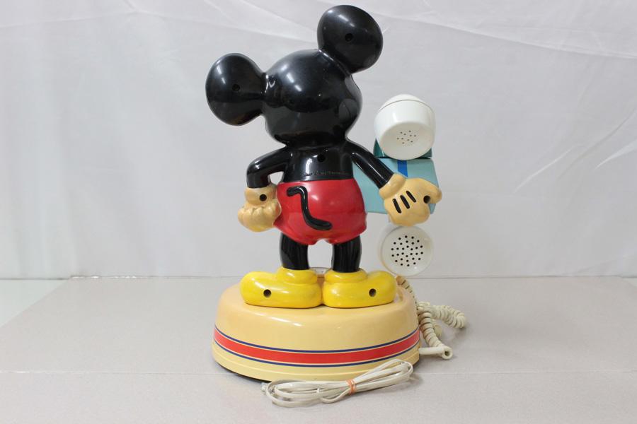 ミッキーマウス電話機 DK-641 神田通信 ♪通話確認済み♪ 昭和レトロ_画像7