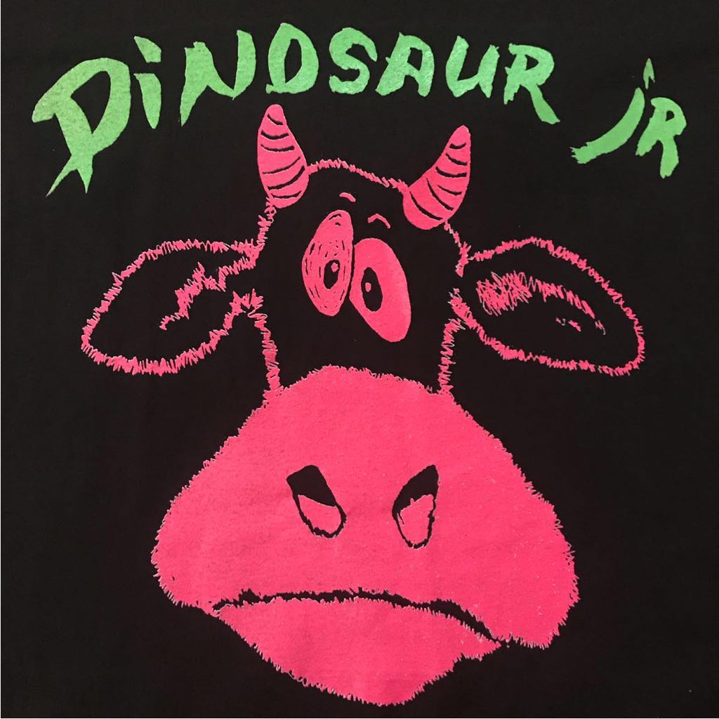 激レア 美品 80s dinosaur jr 初期オリジナル ビンテージ Tシャツ ヨーロッパ製 XL 袖裾シングル ダイナソーjr nirvana sonic youth
