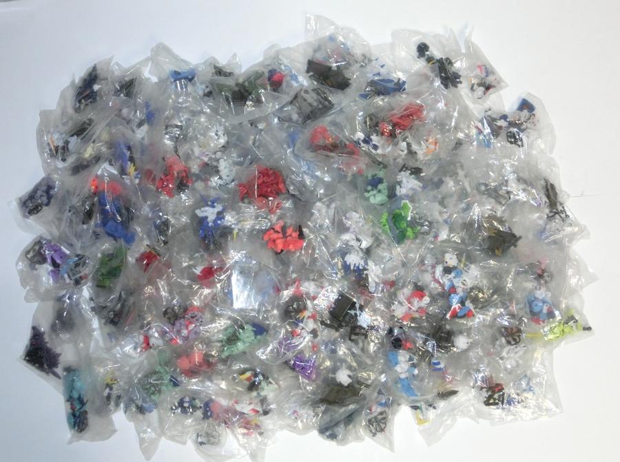 ガシャポン戦士 NEXT 大量セット 袋未開封 約200個 ガンダム ユニコーン グフ ザク マゼラ・アタック オッゴ ボール フィギュア UC