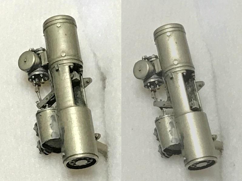 NIWA LOOX prototype O scale 細密給水ポンプ0ゲージサイズ幻の給水ポンプ単品出品です。_O:給水ポンプ稼動部写真