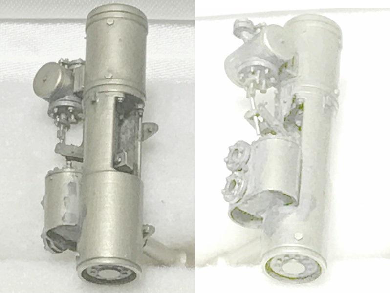 NIWA LOOX prototype O scale 細密給水ポンプ0ゲージサイズ幻の給水ポンプ単品出品です。_O給水ポンプ細部写真