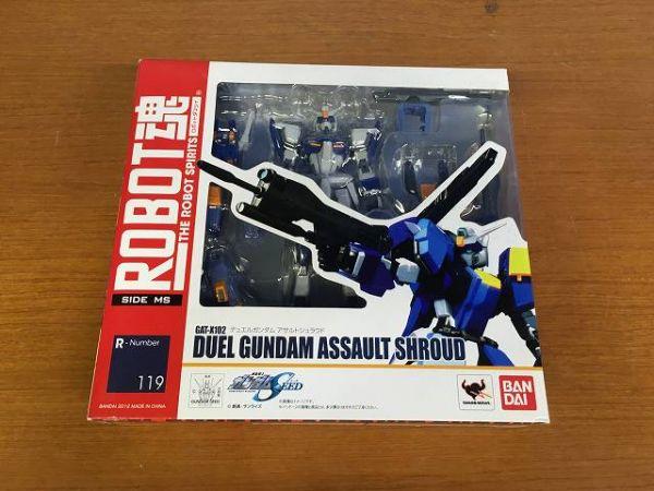 H707 バンダイ ロボット ROBOT魂 デュエルガンダム アサルトシュラウド 機動戦士ガンダムSEED