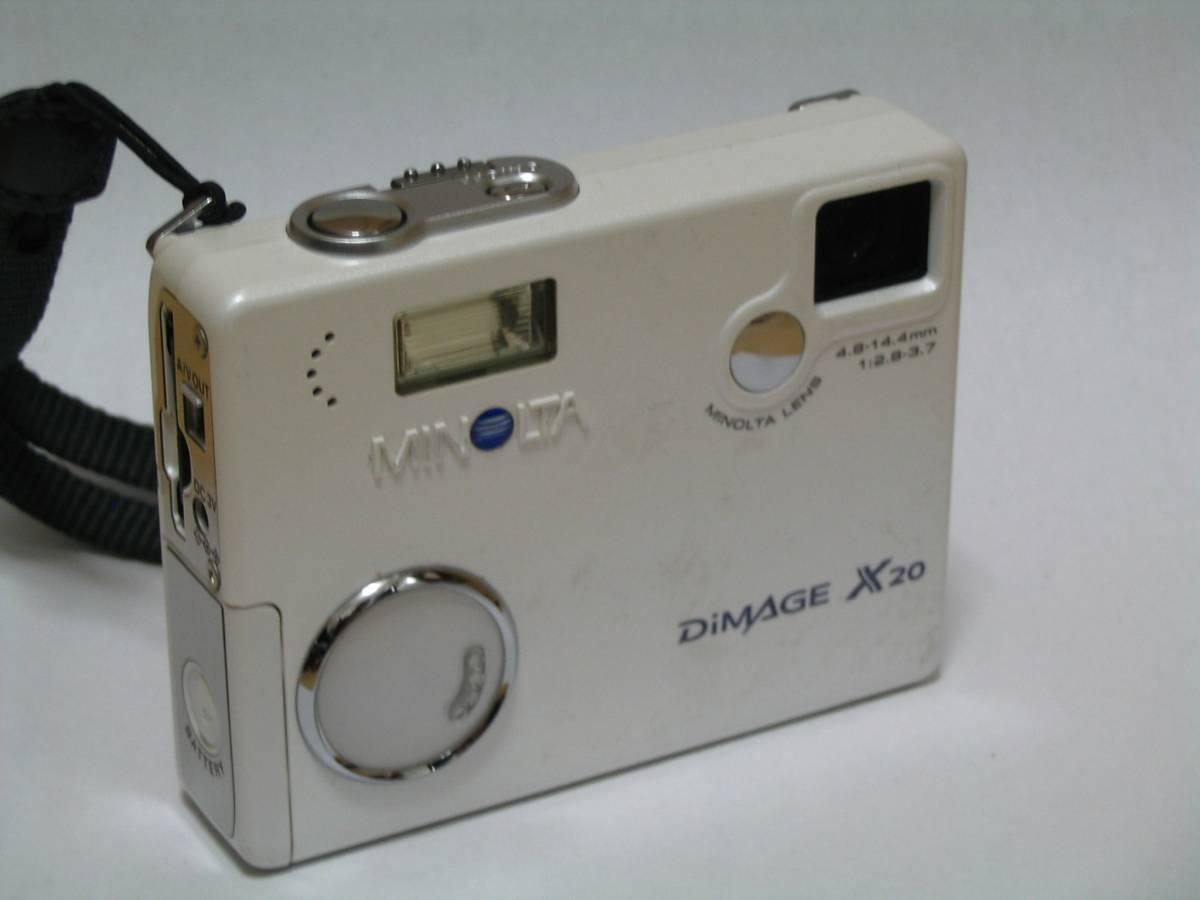 【単三使用】コニカミノルタ ディマージュ Dimage X20