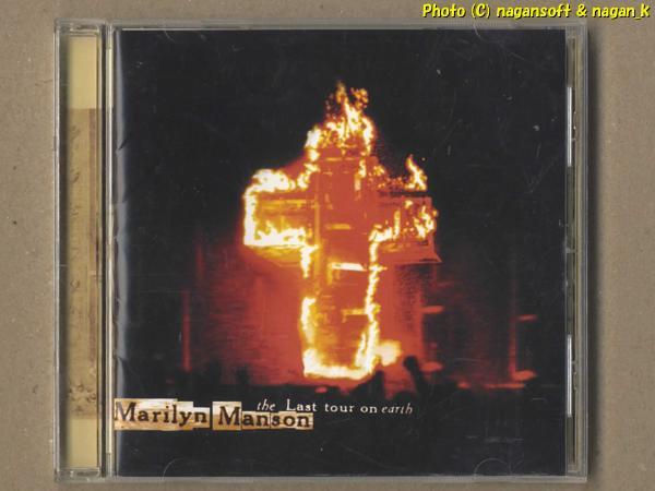 ★即決★ Marilyn Manson (マリリン・マンソン) / The Last Tour on Earth - ライブアルバム、カルトかかった雰囲気を堪能したい方へ