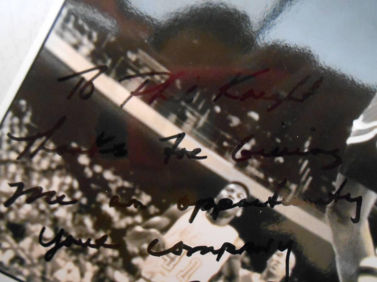 歴史的超お宝 マイケルジョーダンがNIKEとの契約に対してNIKE創業者フィル・ナイトへ感謝の言葉を書いて贈った感謝状・イチロー大谷翔平_画像5