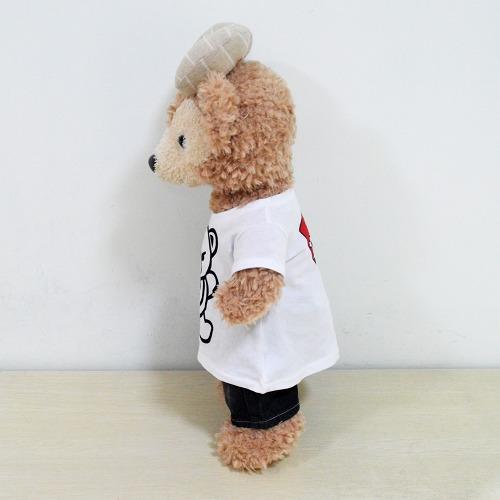 ダッフィーコスチューム 衣装 duffy ディズニー通販ぬいぐるみシェリーメイ洋服 ワンーピスのみダッフィー洋服 シャツ_画像2
