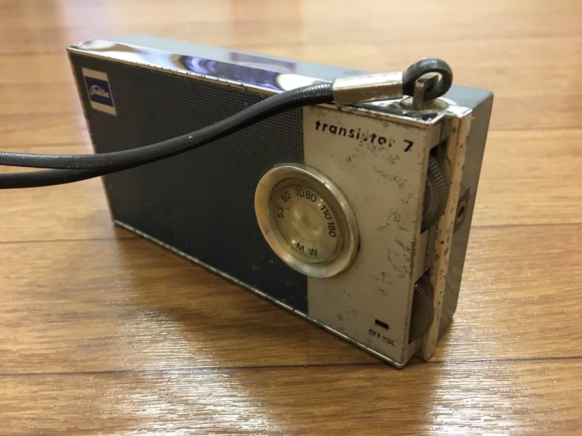TOSHIBA Transistor 7 7P-70 東芝 トランジスタ7  ラジオ ジャンク_画像4