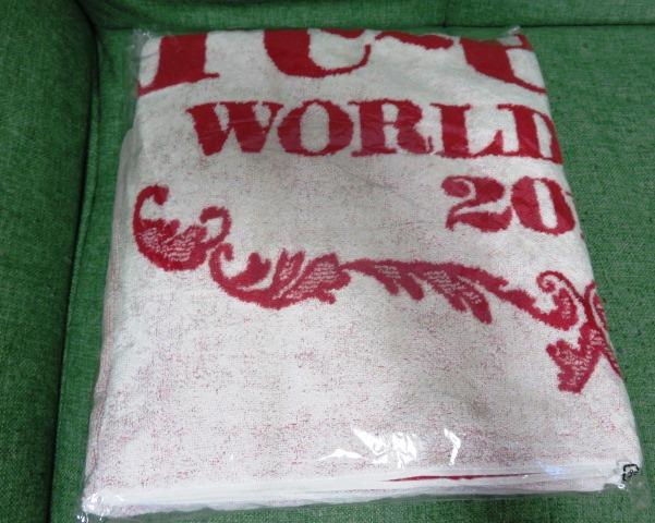 L'Arc-en-Ciel フードタオル 20th L'Anniversary WORLD TOUR 2012 THE FINAL 新品 ラルク