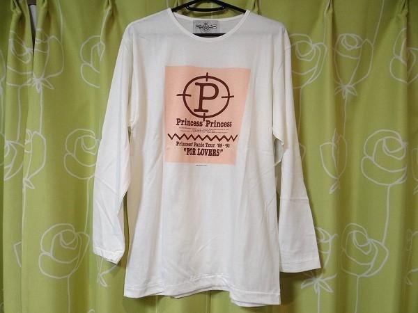 新品 80年代 ビンテージ プリプリ Princess Princess PanicTOUR '89~'90 FOR LOVERS 長袖Tシャツ 奥居香 ロック バンド 当時物