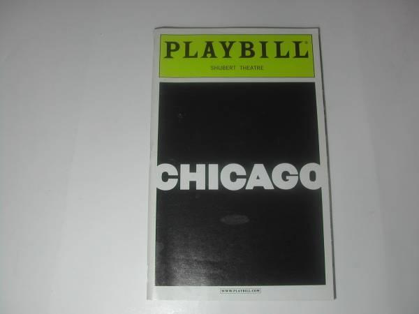 雑誌・PLAYBILL「SHUBERT THEATRE [CHICAGO]」