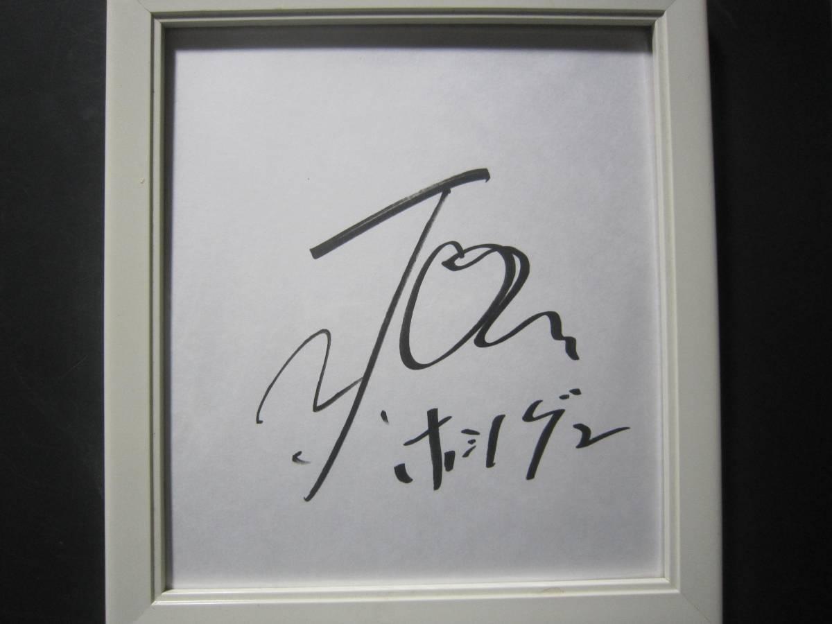 4198b サイン 色紙 歌手 俳優 星野源