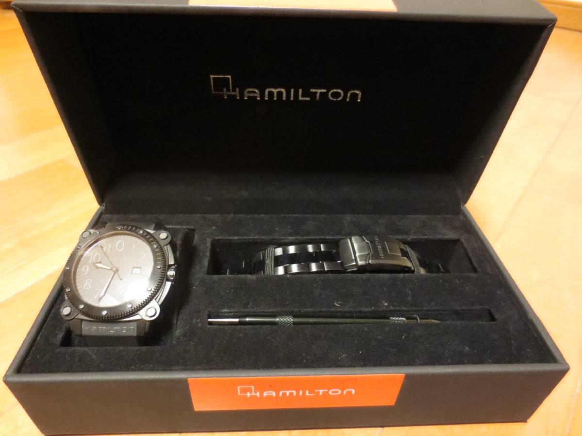 ハミルトン カーキビロウゼロ HAMILTON(H78585333)メンズ腕時計 自動巻き_画像2