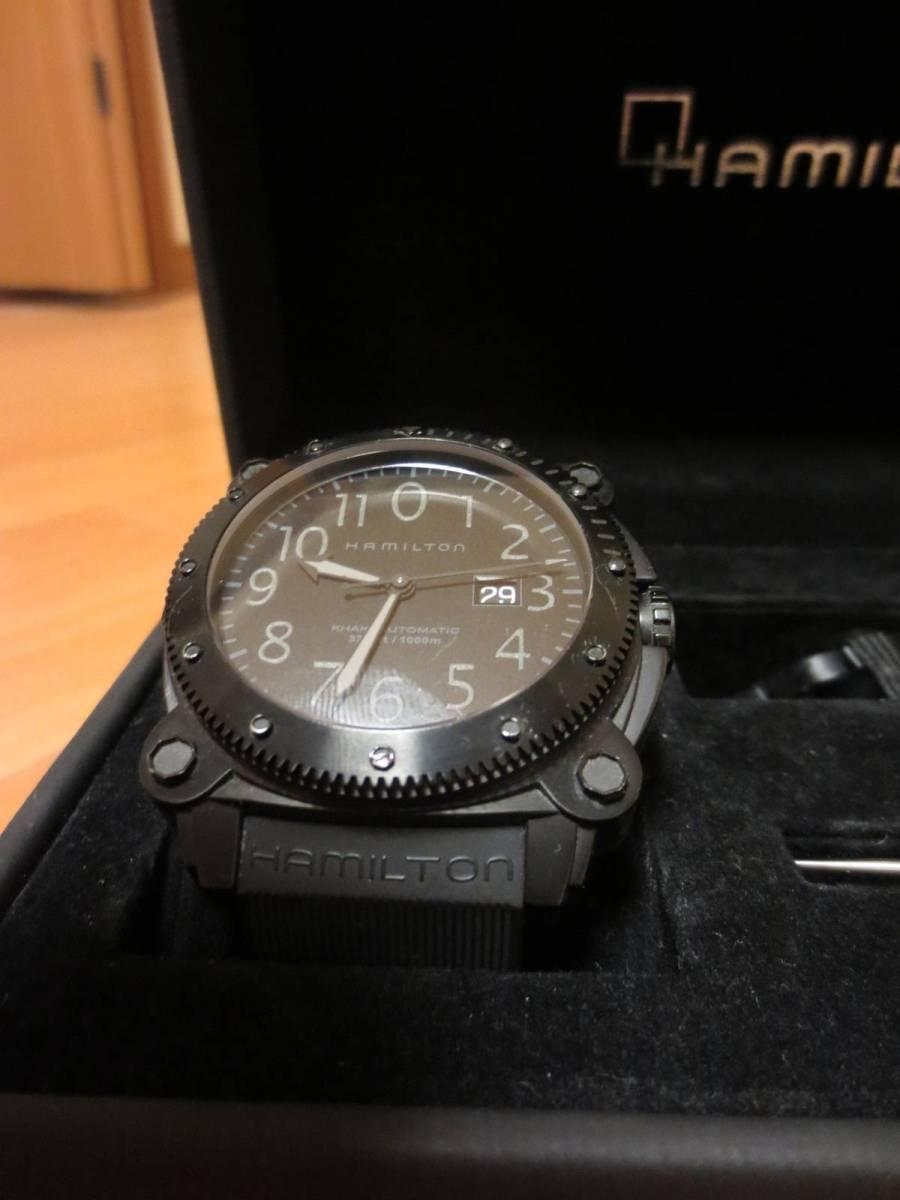 ハミルトン カーキビロウゼロ HAMILTON(H78585333)メンズ腕時計 自動巻き_画像3